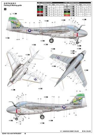 Trumpeter Plastikový model letadla A6 Intruder