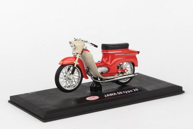 Abrex Jawa 50 Pionýr typ 20 (1967) - Červená