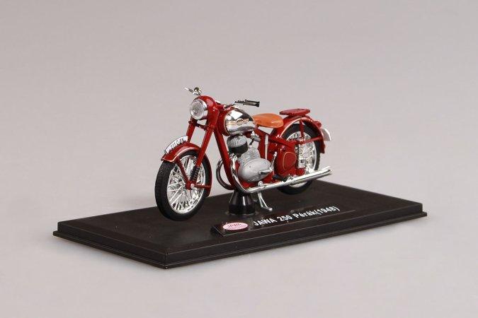 Abrex Jawa 250 Pérák (1948) - Tmavě červená