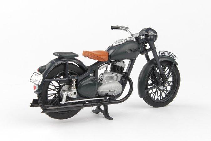 Abrex Jawa 250 Pérák (1942) - Šedá tmavá - Prototyp