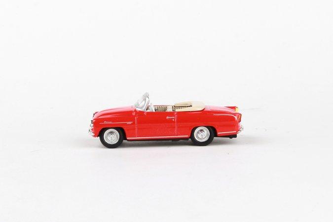 Abrex Škoda Felicia Roadster (1963) - Světle červená