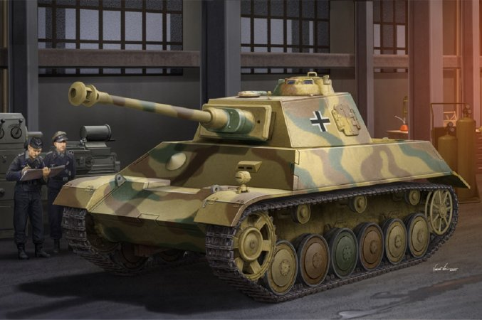 Hobby Boss Plastikový model tanku German Pz.Kpfw. III / IV auf Einheitsfahrgestell