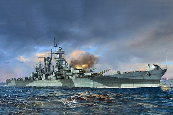 Trumpeter Plastikový model lodě USS Alaska CB-1