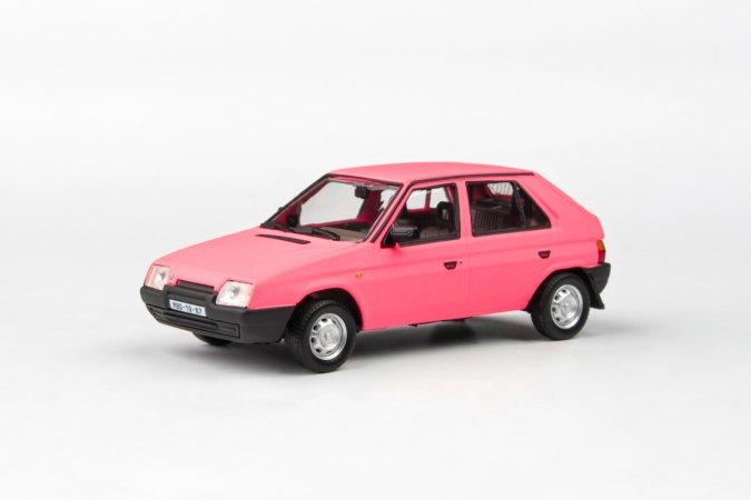 Abrex Škoda Favorit 136 L (1988) - Růžová matná