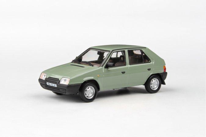 Abrex Škoda Favorit 136 L (1988) - Zelená topolová