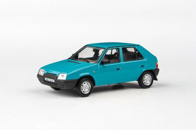 Abrex Škoda Favorit 136 L (1988) - Modrá Jadran