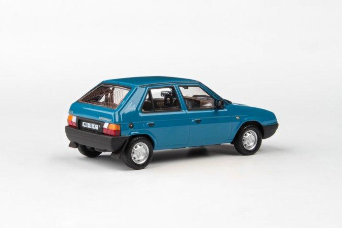 Abrex Škoda Favorit 136 L (1988) - Modrá Škoda