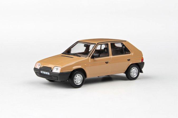Abrex Škoda Favorit 136 L (1988) - Hnědá Beduínská
