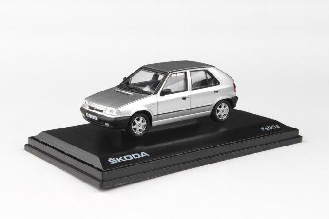 Abrex Škoda Felicia (1994) - Stříbrná metalíza