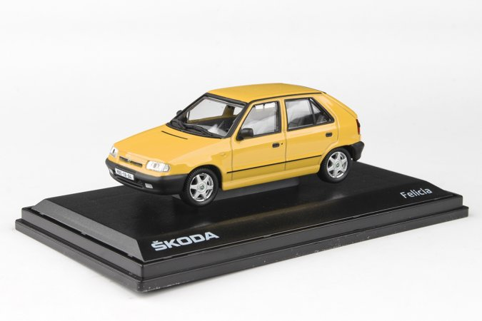 Abrex Škoda Felicia (1994) - Žlutá pastelová