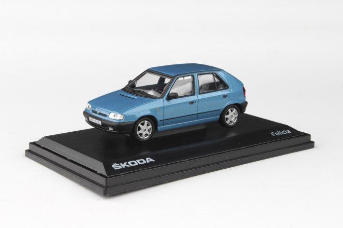 Abrex Škoda Felicia (1994) - Modrá Laguna metalíza