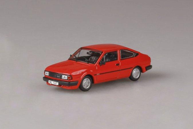 Abrex Škoda Rapid 136 (1987) - Červená korálová