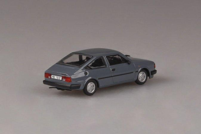 Abrex Škoda Rapid 136 (1987) - Šedomodrá tmavá