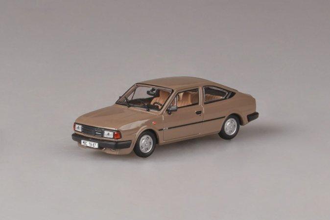 Abrex Škoda Rapid 136 (1987) - Hnědá kamenná