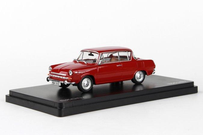 Abrex Škoda 1100 MBX (1969) - Červená rubínová
