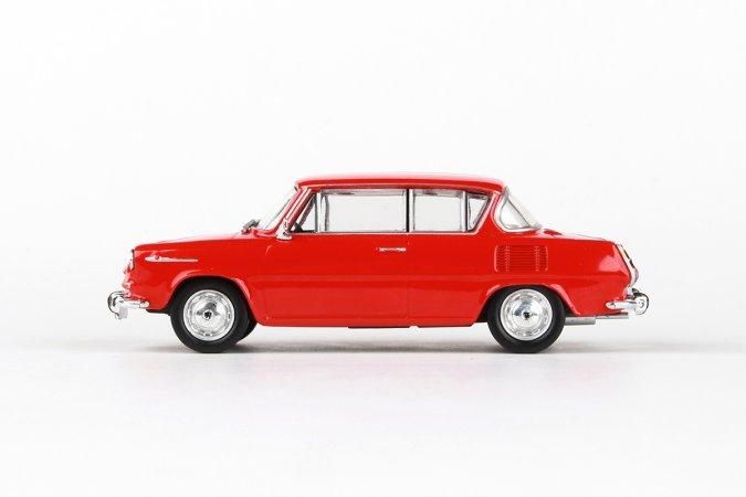 Abrex Škoda 1100 MBX (1969) - Červená oranžová