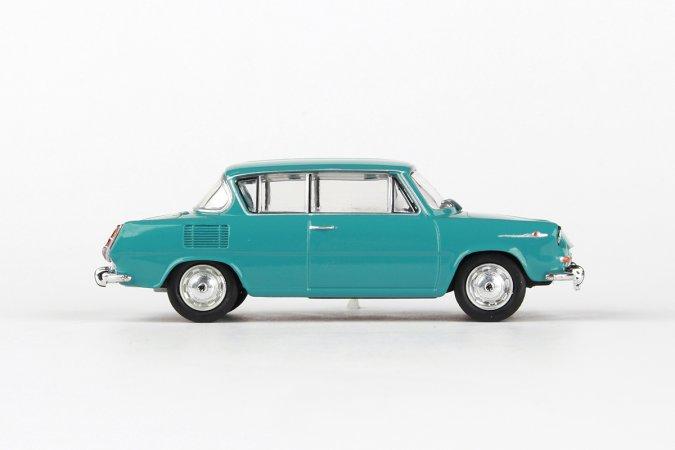 Abrex Škoda 1100 MBX (1969) - Tyrkysová světlá