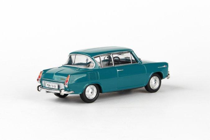 Abrex Škoda 1100 MBX (1969) - Modrozelená tmavá