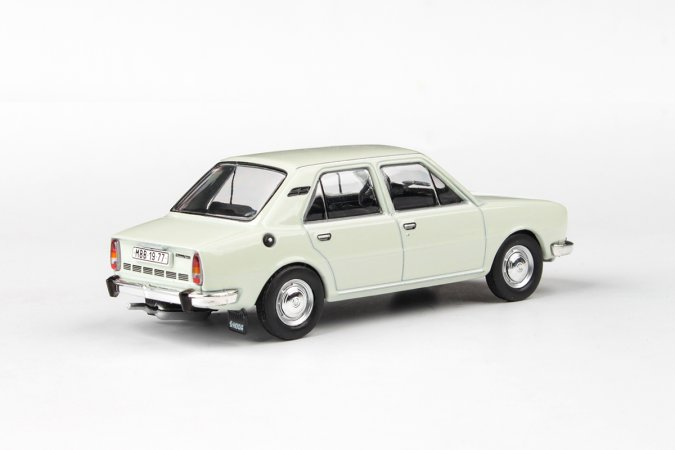 Abrex Škoda 105 L (1977) - Bílá ledová