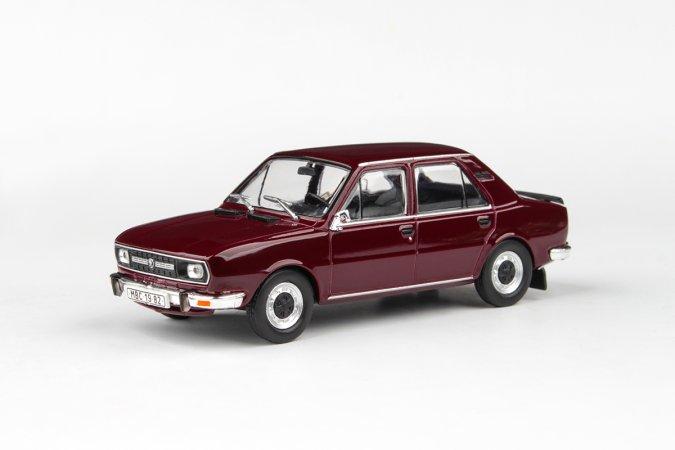 Abrex Škoda 120 L (1982) - Červená Maron