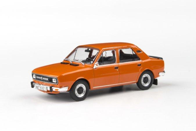 Abrex Škoda 120 L (1982) - Oranžová brilantní