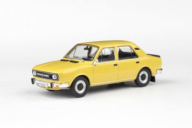 Abrex Škoda 120 L (1982) - Žlutá kanárková