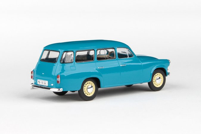 Abrex Škoda 1202 (1964) - Tyrkysová tmavá