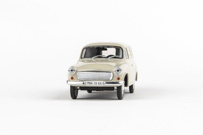Abrex Škoda 1202 Dodávka (1965) - Šedá