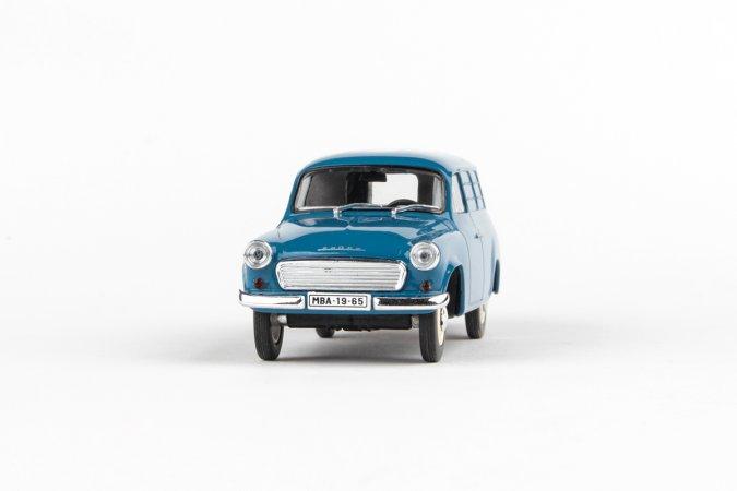 Abrex Škoda 1202 Dodávka (1965) - Šedomodrá