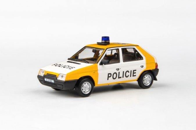 Abrex Škoda Favorit 136 L (1988) - Policie ČSFR