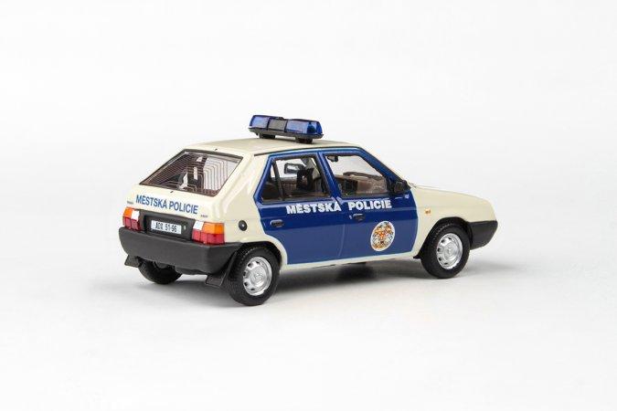 Abrex Škoda Favorit 136 L (1988) - Městská Policie