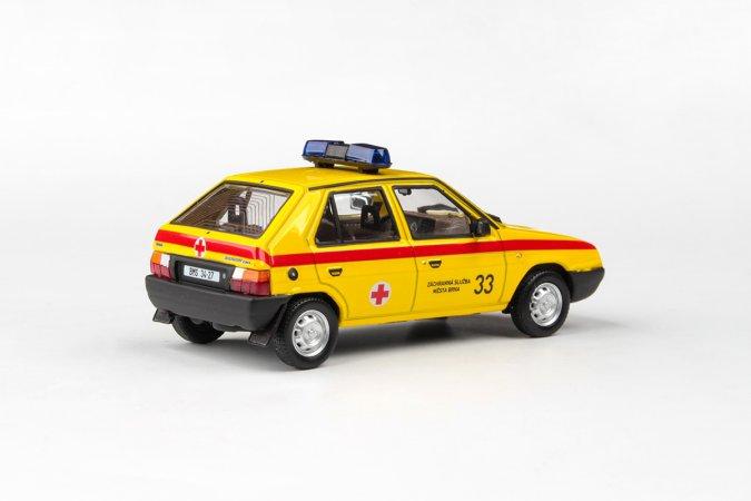 Abrex Škoda Favorit 136 L (1988) - Záchranná služba města Brna