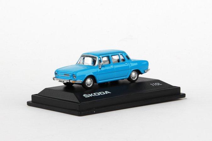 Abrex Škoda 110 L (1973) - Modrá světlá