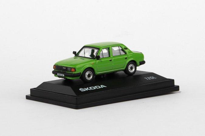 Abrex Škoda 120 L (1984) - Zelená světlá