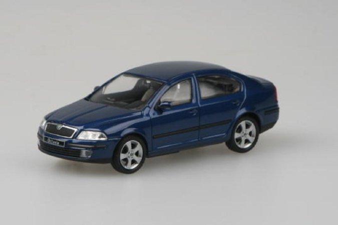 Abrex Škoda Octavia II (2004) - Modrá Hlubinná metalíza