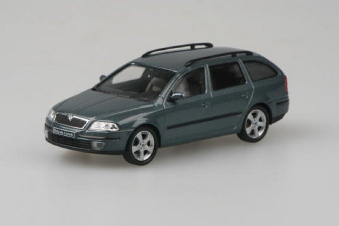 Abrex Škoda Octavia II Combi (2004) - Šedá Graphite metalíza