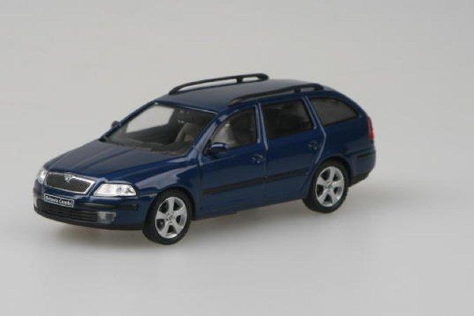 Abrex Škoda Octavia II Combi (2004) - Modrá Hlubinná metalíza