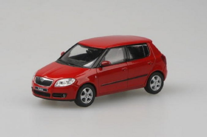 Abrex Škoda Fabia II (2006) - Červená Corrida Uni