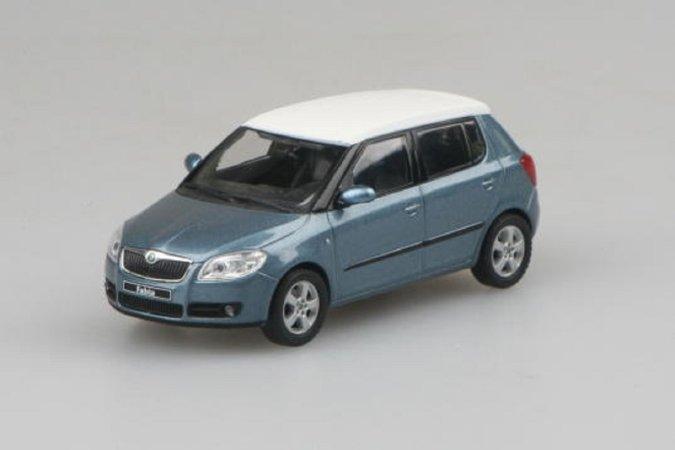 Abrex Škoda Fabia II (2006) - Šedá Satin metalíza