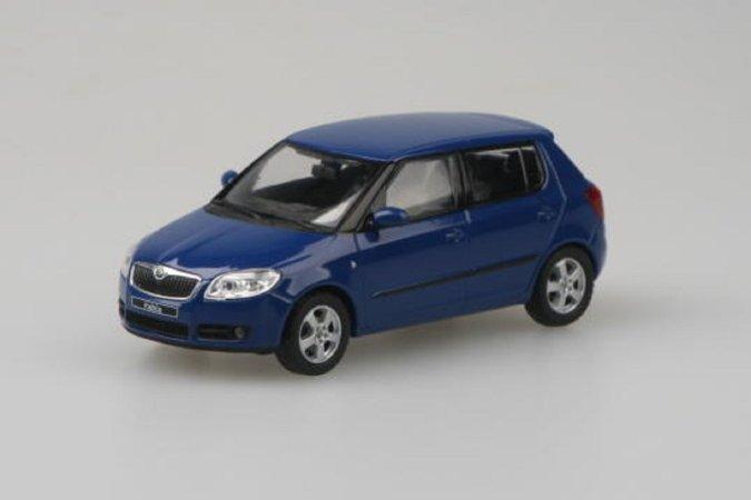 Abrex Škoda Fabia II (2006) - Modrá Dynamic Uni