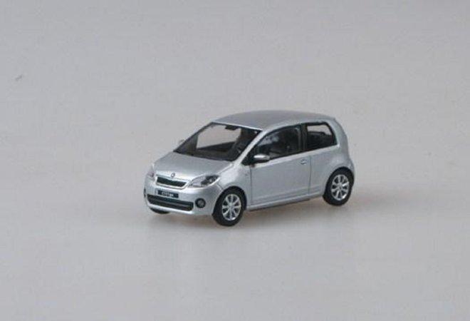Abrex Škoda Citigo 3dveřové (2011) - Stříbrná Brilliant metalíza