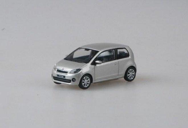 Abrex Škoda Citigo 3dveřové (2011) - Stříbrná Leaf metalíza