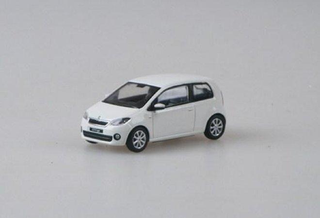Abrex Škoda Citigo 3dveřové (2011) - Bílá Candi Uni