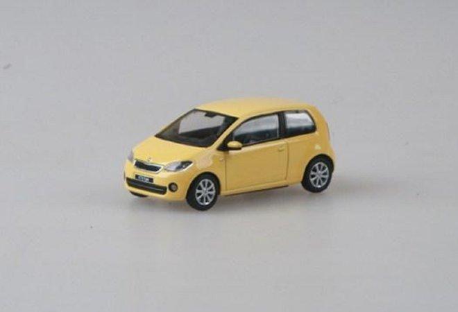 Abrex Škoda Citigo 3dveřové (2011) - Žlutá Sunflower