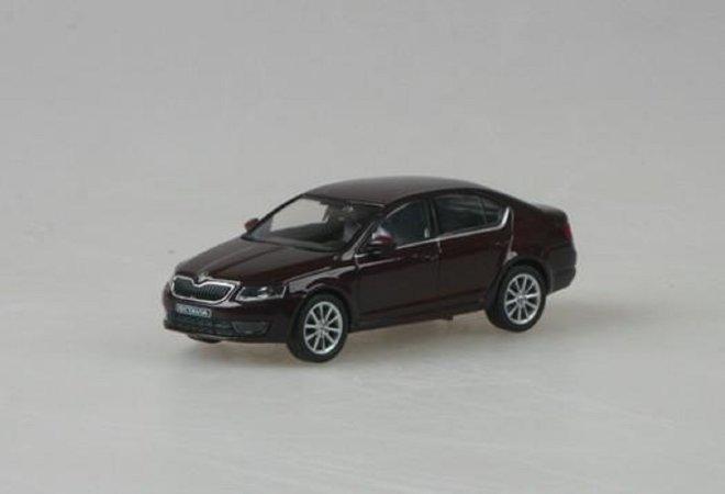 Abrex Škoda Octavia III (2012) - Rosso Brunello metalíza