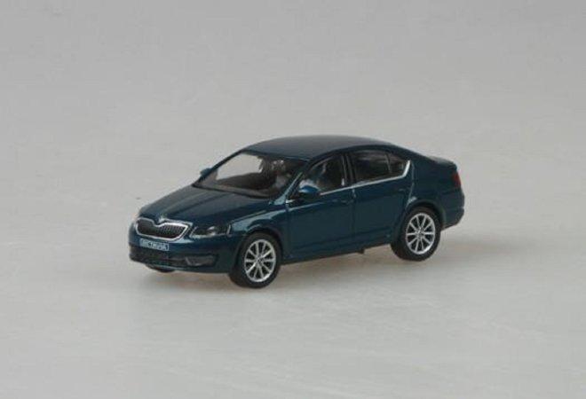 Abrex Škoda Octavia III (2012) - Modrá Lava metalíza