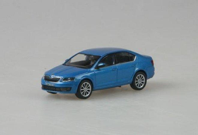 Abrex Škoda Octavia III (2012) - Modrá Denim metalíza