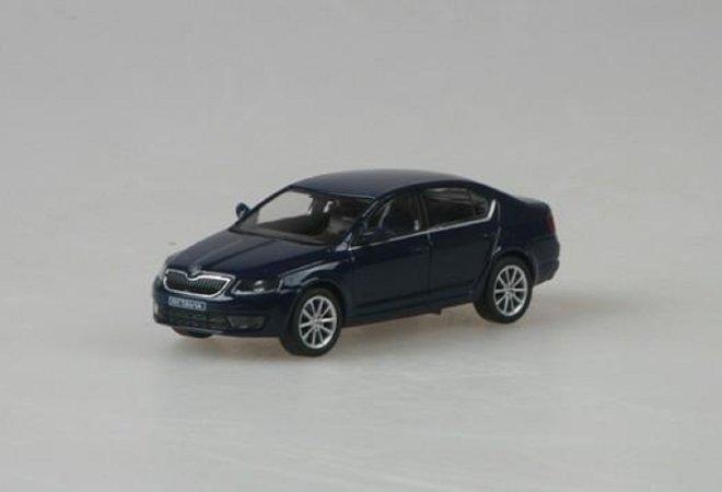 Abrex Škoda Octavia III (2012) - Modrá Pacific Uni