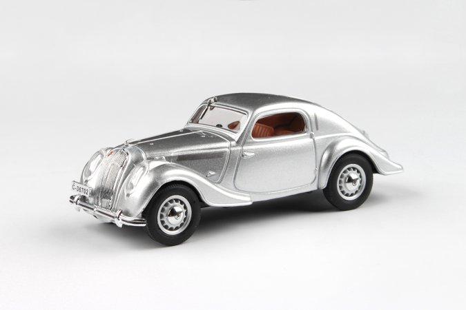Abrex Škoda Popular Sport Monte Carlo (1937) - Stříbrná metalíza