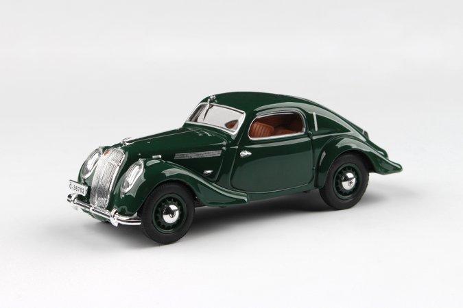 Abrex Škoda Popular Sport Monte Carlo (1937) - Zelená mechová